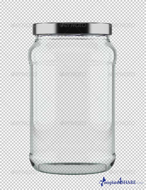 GraphicRiver Empty Jar