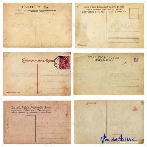 GraphicRiver Old Vintage Postcards