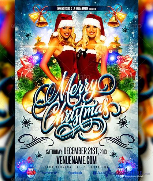 GraphicRiver Christmas Flyer Part 2