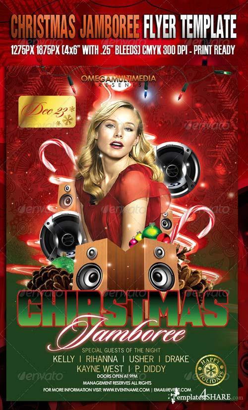 GraphicRiver The Christmas Jamboree Template