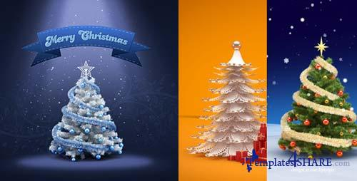 Christmas & New Year Greeting Card Design - After Effects Project (Videohive)
