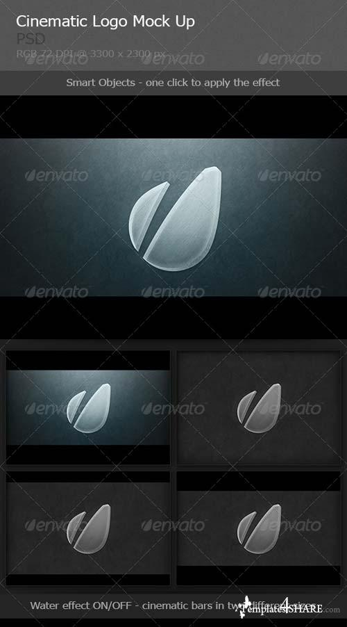 GraphicRiver 5 Cinematic Logo Mockups