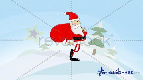 Santa Walk - After Effects Project (Revostock)