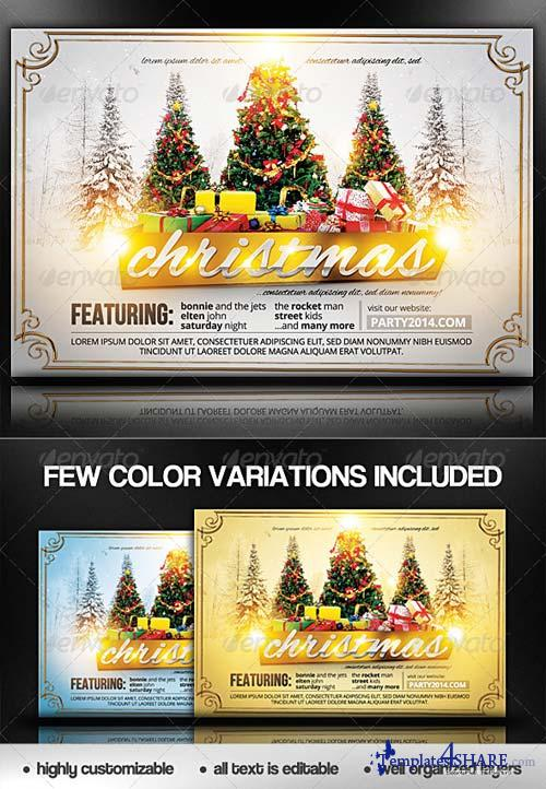 GraphicRiver Christmas Flyer