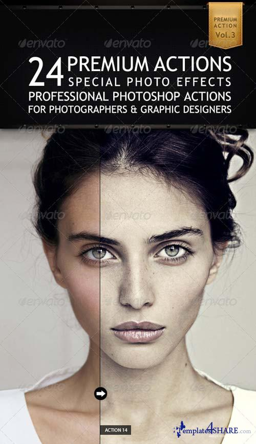 GraphicRiver 24 Premium Actions