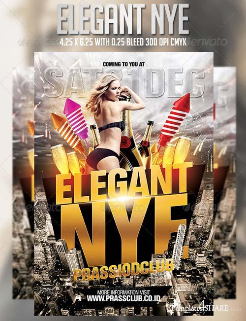GraphicRiver Elegant Nye Flyer Template