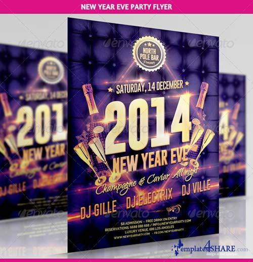 GraphicRiver New Year Eve Party Flyer