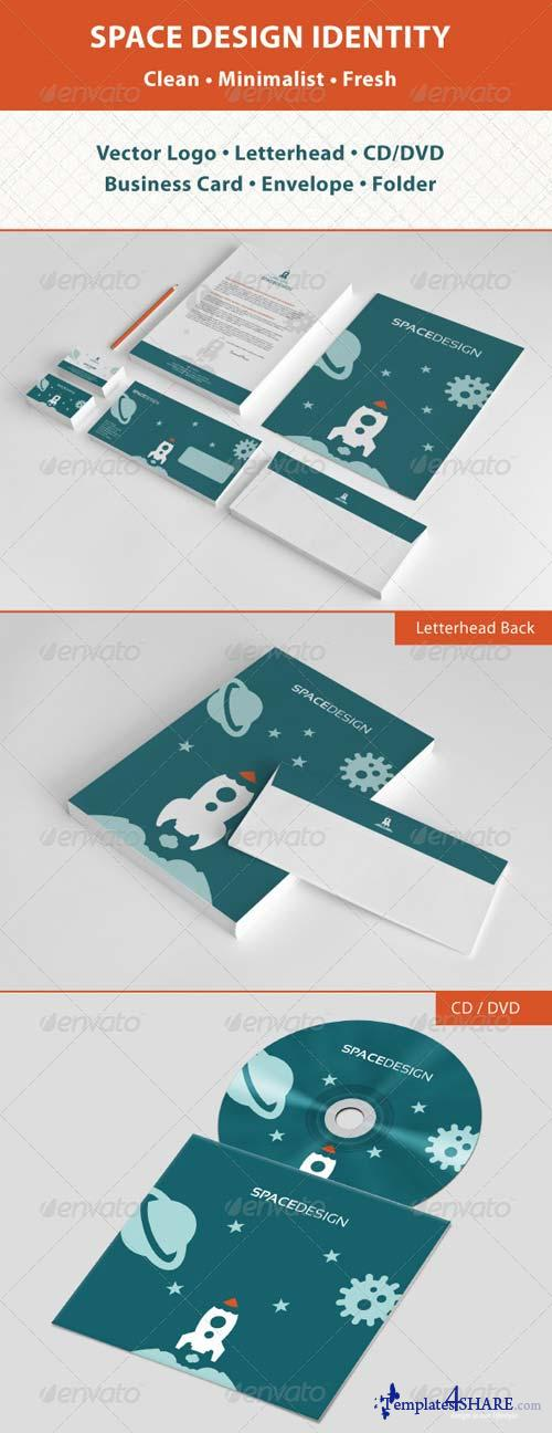 GraphicRiver Space Design Stationery