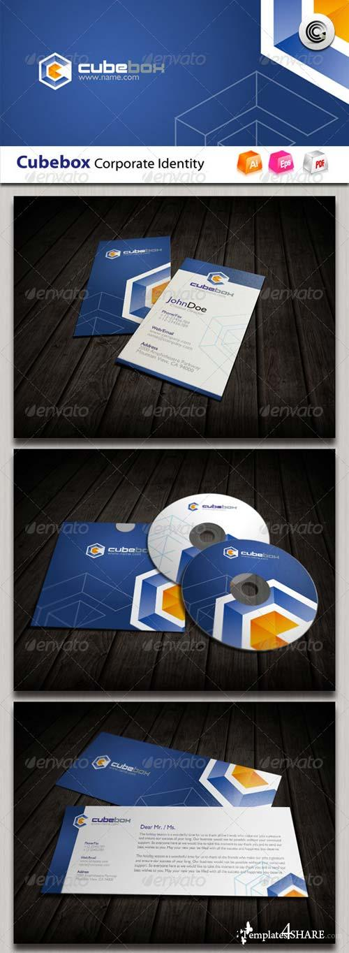 GraphicRiver Cube Box Corporate Identity