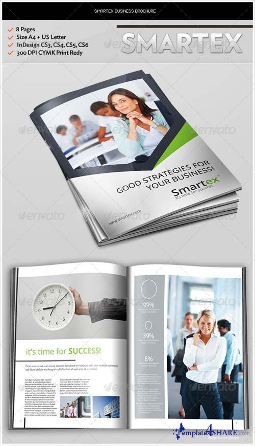 GraphicRiver Smartex Business Brochure