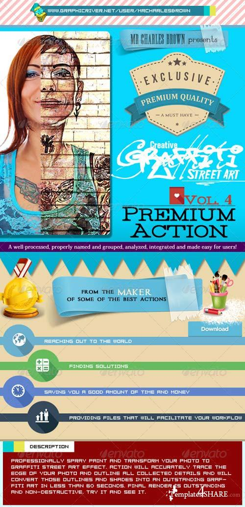 GraphicRiver Creative Graffiti Street Art Vol. 4