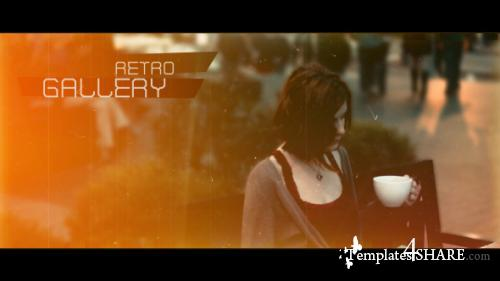 Retro Gallery - After Effects Project (Videohive)