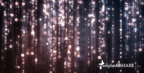Diamond Rain - After Effects Motion Graphics (Videohive)