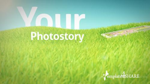 Photos On Grass - After Effects Project (Videohive)
