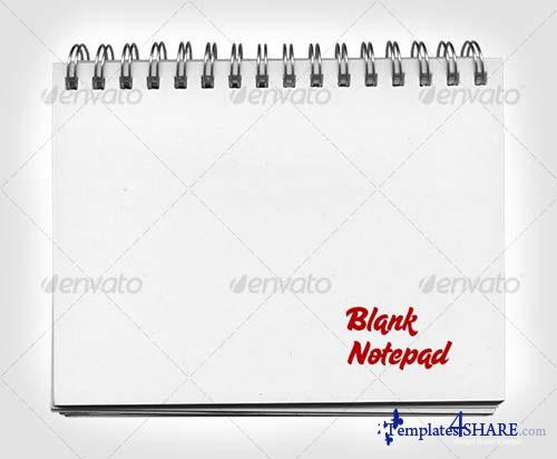 GraphicRiver Blank Notepad