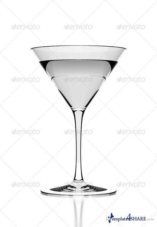GraphicRiver Martini Glass