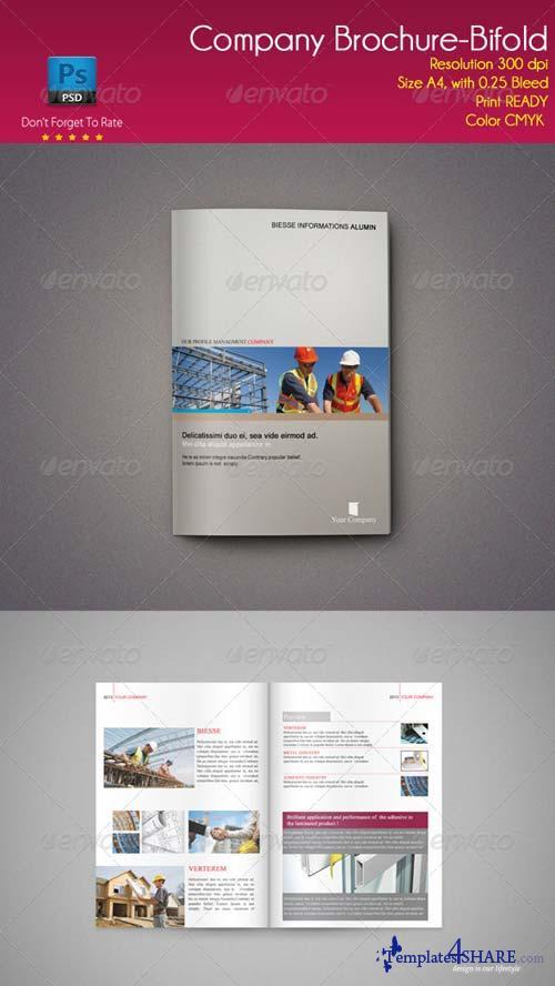 GraphicRiver Company Brochure-Bifold