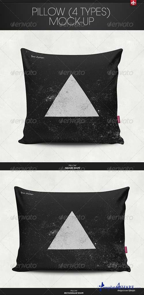 GraphicRiver Pillow Mock-Up