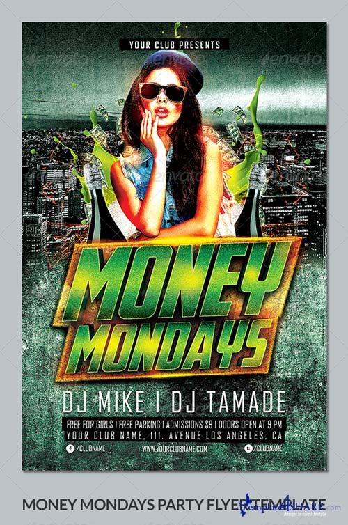 GraphicRiver Money Mondays Party Flyer Template