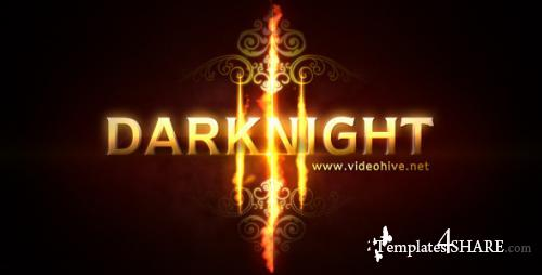 Darknight Logo Reveal - After Effects Project (Videohive)