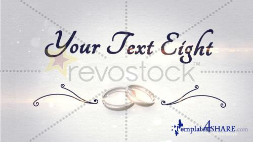 Wedding Swirl - After Effects Project (RevoStock)