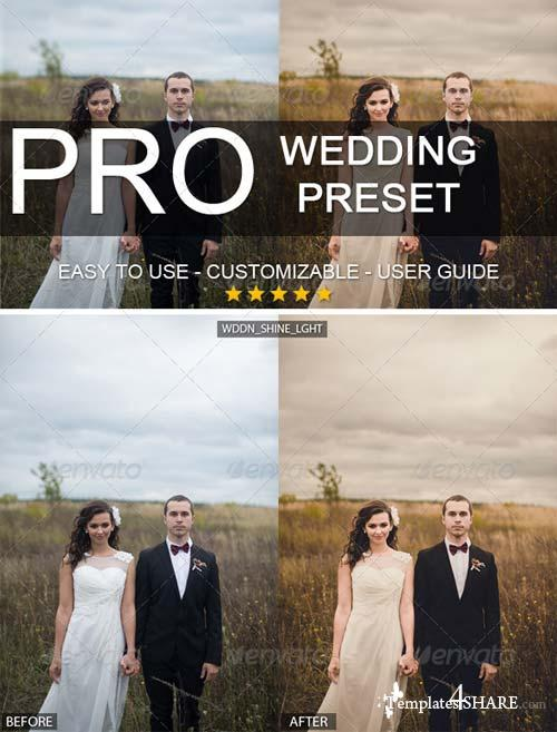GraphicRiver Warm Wedding Lightroom Professional Preset