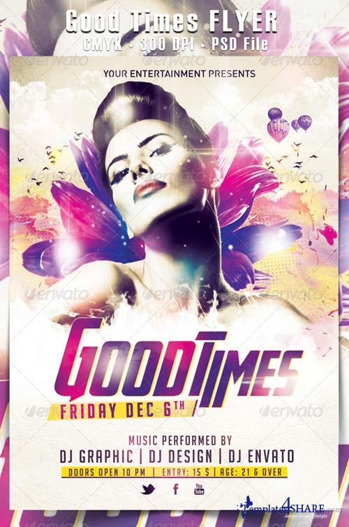 GraphicRiver Good Times Flyer