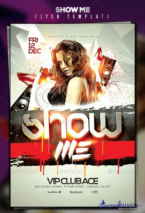 GraphicRiver Show Me Flyer Template