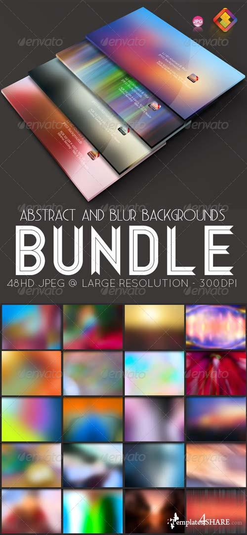 GraphicRiver Abstract & Blur Backgrounds Bundle