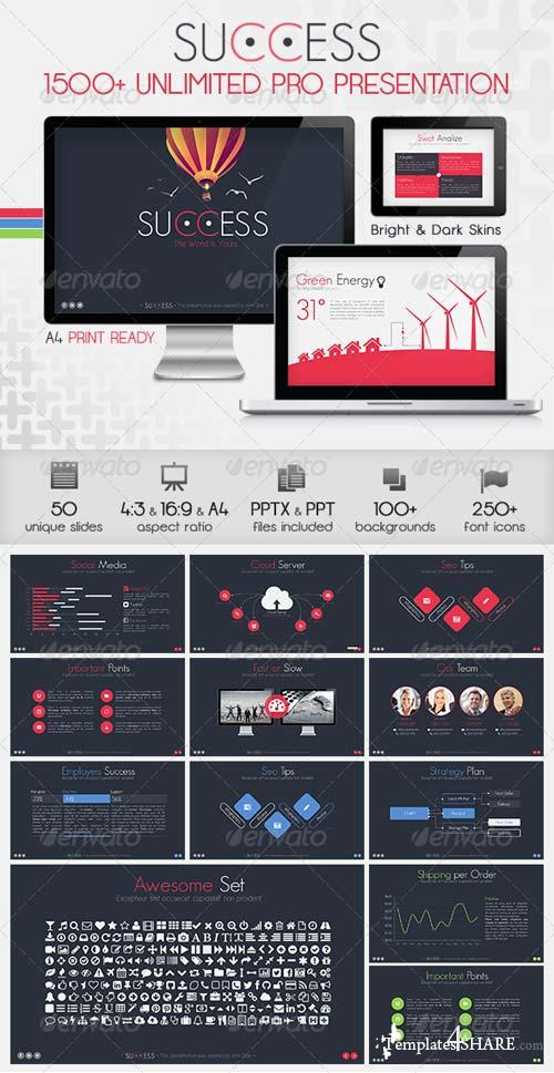 GraphicRiver Success Powerpoint Presentation Template