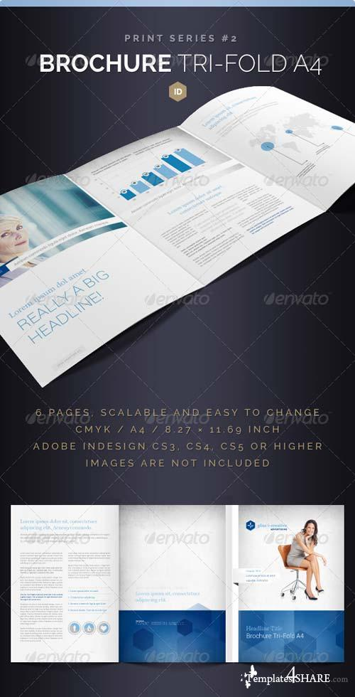 GraphicRiver Brochure Tri-Fold A4 Series 2