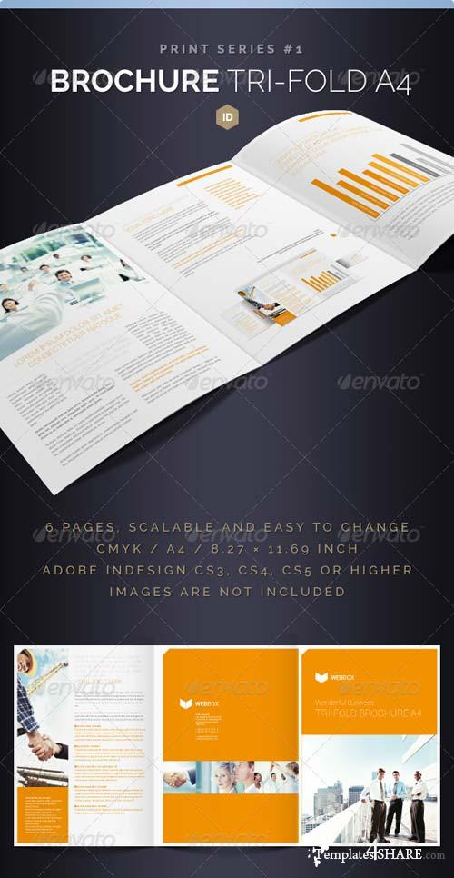GraphicRiver Brochure Tri-Fold A4 Series 1