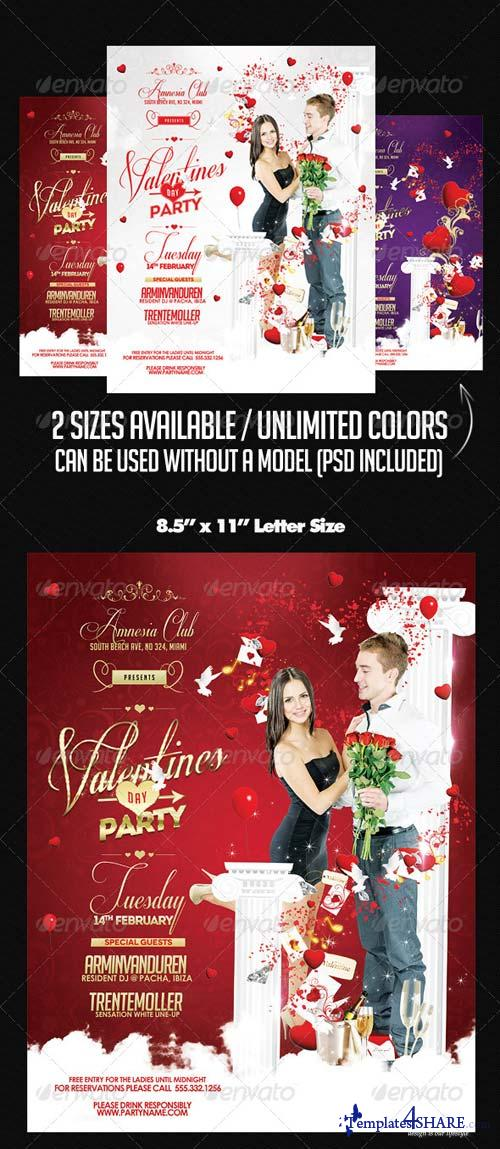 GraphicRiver Valentines Party