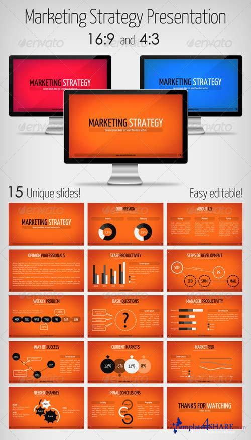 GraphicRiver Marketing Strategy Presentation