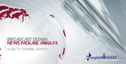 Broadcast Design News Package Mikka II - After Effects Project (Videohive)