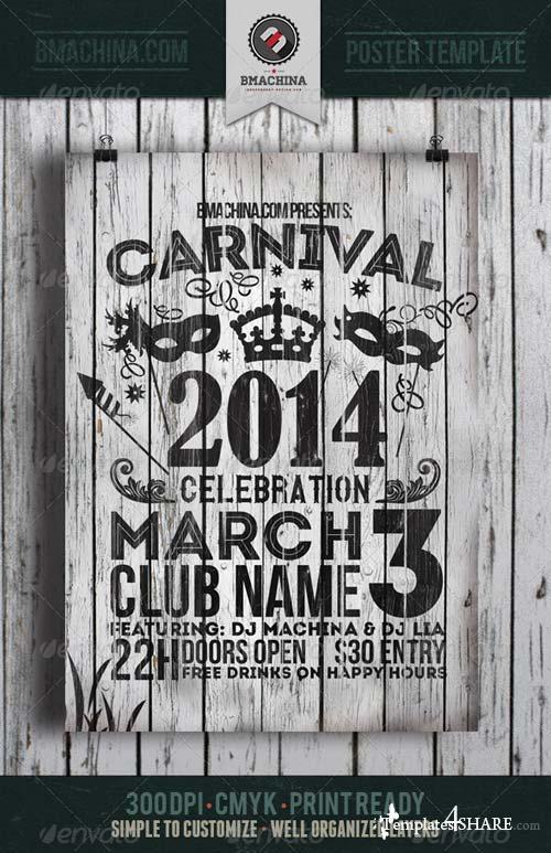 GraphicRiver Carnival Celebration Flyer Template