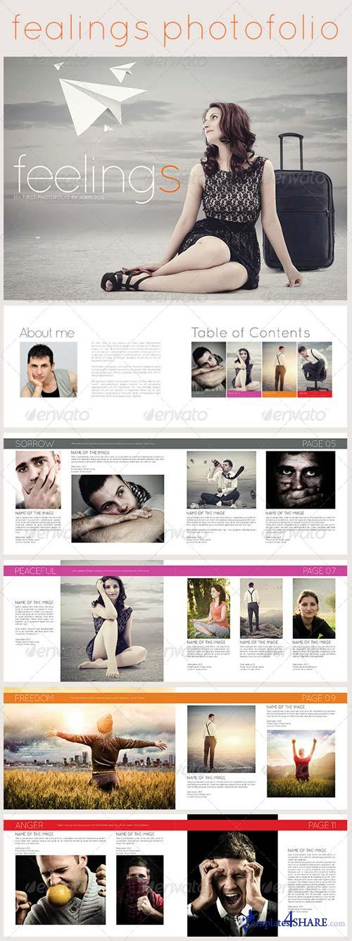 GraphicRiver Feelings Photofolio - Photo Album Template