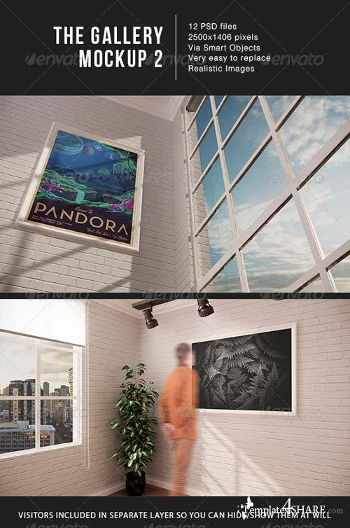 GraphicRiver The Gallery MockUp 2