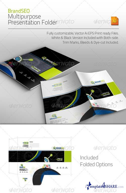 GraphicRiver BrandSEO Multipurpose Presentation Folder