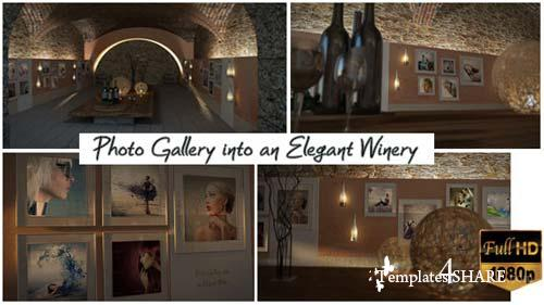 Photo Gallery In An Elegant Winery - After Effects Project (Videohive)