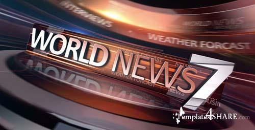 World News Broadcast Package - After Effects Project (Videohive)