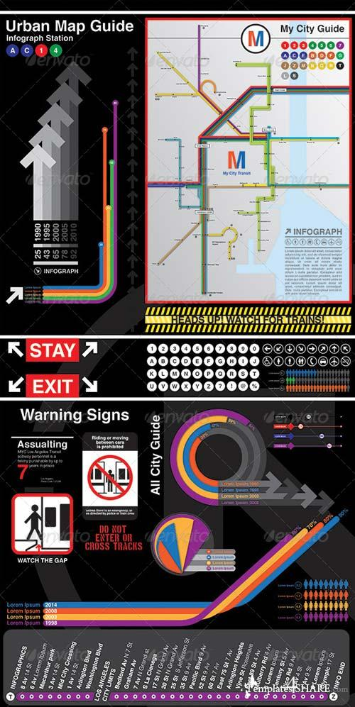 GraphicRiver Infographics My City Guide