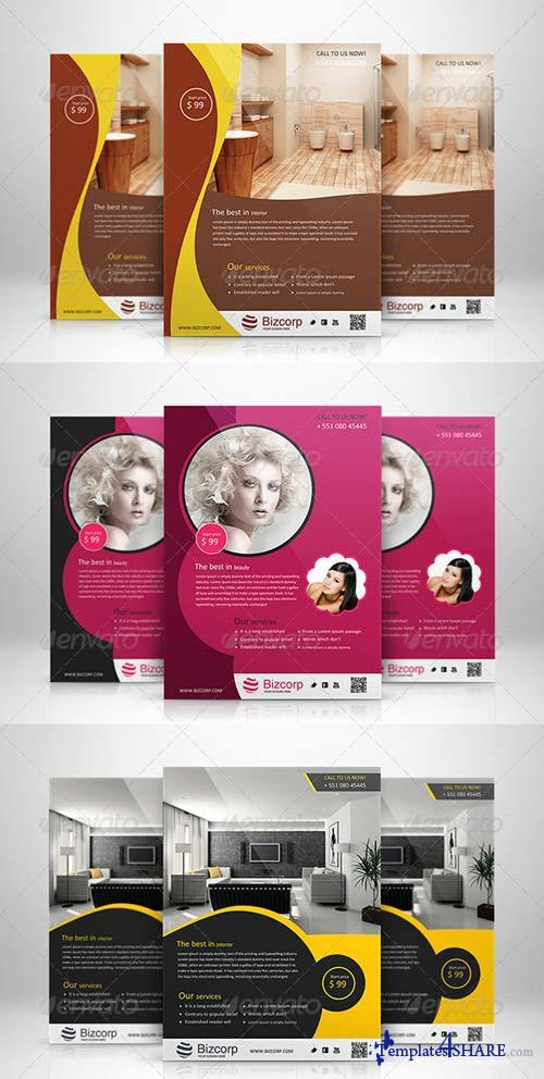 GraphicRiver Corporate Flyers Bundle Vol 9