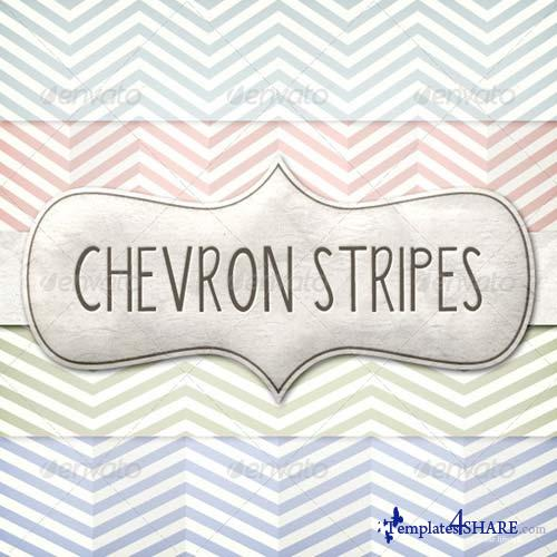 GraphicRiver Vintage Chevron Patterns Pack