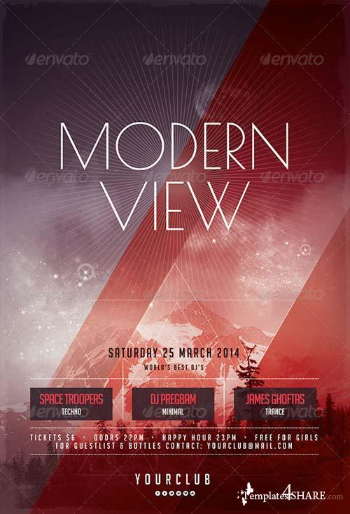GraphicRiver Modern View Flyer