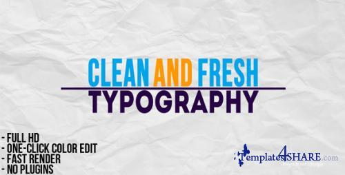 Typographic Presentation - After Effects Project (Videohive)