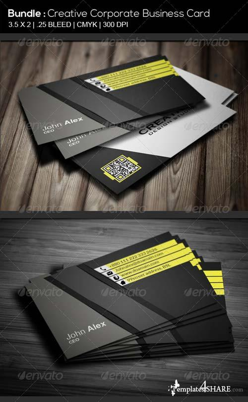 GraphicRiver BUNDLE # Creative Corporate Business Card