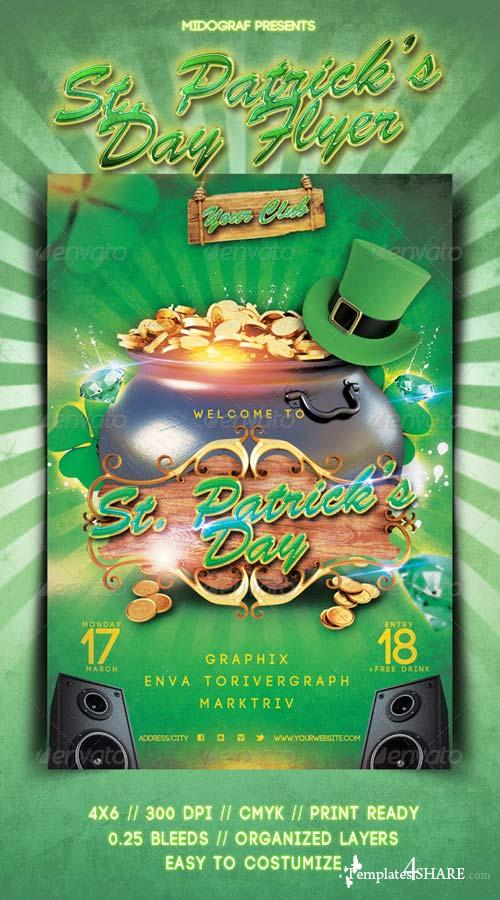 GraphicRiver St Patricks Day Flyer