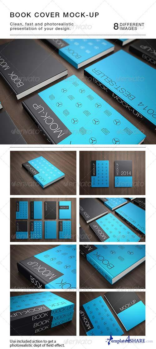 GraphicRiver Book Cover Mock-Up's