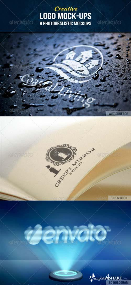 GraphicRiver Creative Logo Mock-Ups